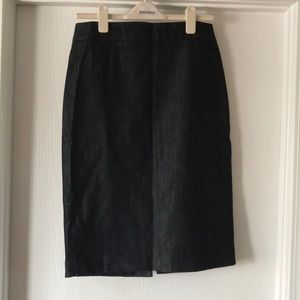 J. Crew denim pencil skirt size 10